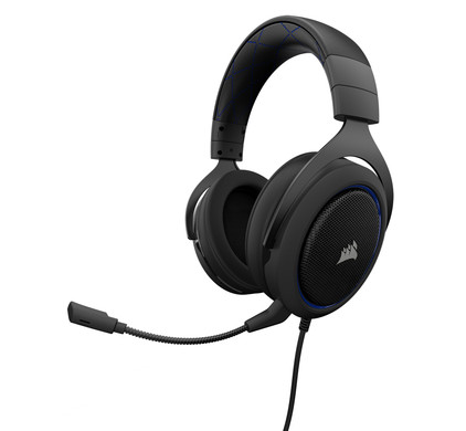 Corsair HS50 Stereo Gaming Headset Blauw