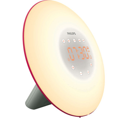 Philips Wake-Up Light HF3506/30 Rood