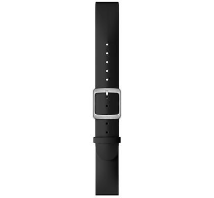 Nokia 18mm Siliconen Horlogeband Zwart