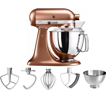 KitchenAid Artisan Mixer 5KSM175PS Geborsteld Koper