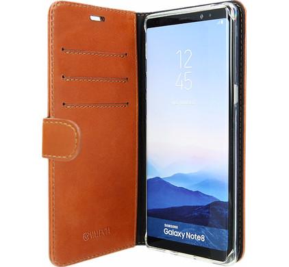 Cuir Luxe Flip Cas Pour Samsung Galaxy Note 5 - Brown g31MtKH8