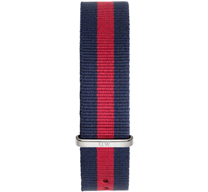 Daniel Wellington Oxford Strap Silver 20mm