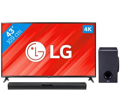 LG 43UJ630V + LG SJ2