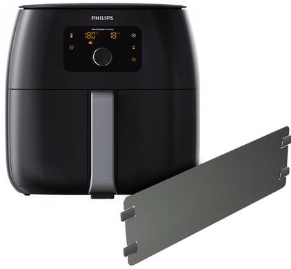 Philips Avance Airfryer XXL HD9652/90 Zwart + Panverdeler