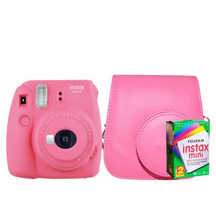 Starterskit - Fuji Instax Mini 9 Flamingo Pink