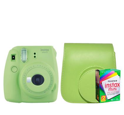 Starterskit - Fuji Instax Mini 9 Lime Green
