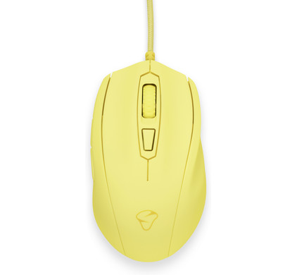 Mionix Castor French Fries Gaming Muis Geel