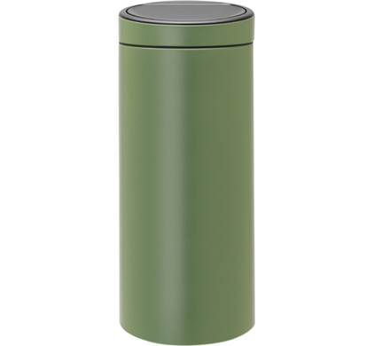 Brabantia Touch Bin 30 Liter.Brabantia Touch Bin 30 Liters Moss Green Before 23 59 Delivered