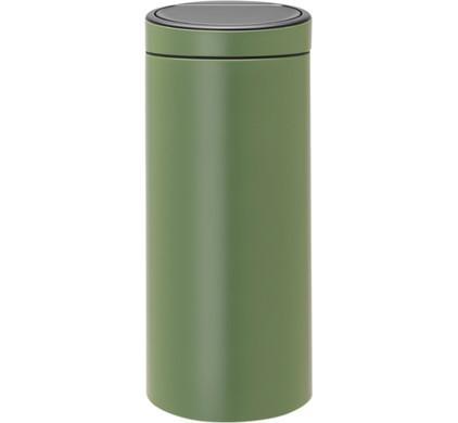 Brabantia Afvalbak 30 Liter.Brabantia Touch Bin 30 Liter Moss Green Coolblue Voor 23 59u