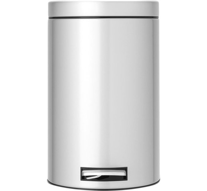 Brabantia Pedaalemmer 12 Liter Metallic Grey
