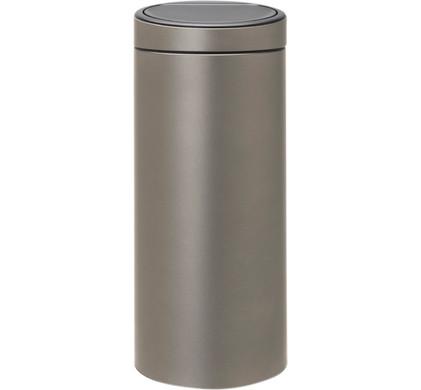 Brabantia Touch Bin 30 Liter.Brabantia Touch Bin 30 Liters Platinum Before 23 59 Delivered