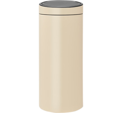 Brabantia Touch Bin 30 Liter Almond