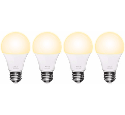 Trust Smart Home E27 Losse Lamp Warm Wit (4 Stuks)