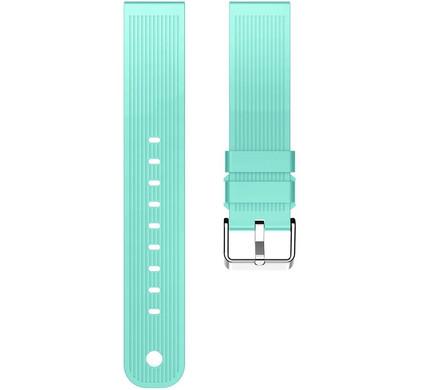 Just in Case Samsung Gear Sport Siliconen Horlogeband Blauw