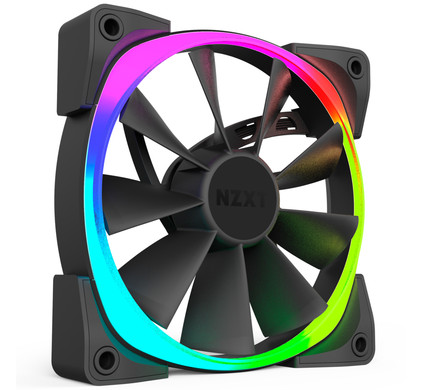 NZXT AER 120MM RGB Duo Pack Met Hue+