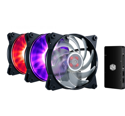 Cooler Master MasterFan Pro 120 Air Balance 3 In 1 RGB