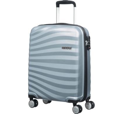 American Tourister Ocean Front Spinner 55cm Sky Silver