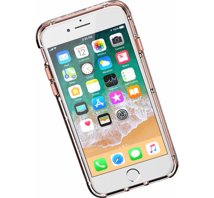 Griffin Survivor Clear Coque arrière Apple iPhone 6 6s 7 8 Or rose ... 341cb73e2854