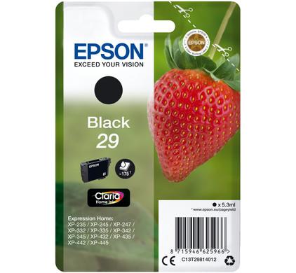 Epson 29 Cartridge Zwart (C13T29814012)