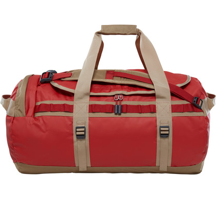 The North Face Base Camp Duffel M Bossa Nova Red/Kelp Tan