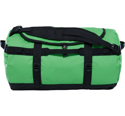 The North Face Base Camp Duffel S Classic Green/TNF Black