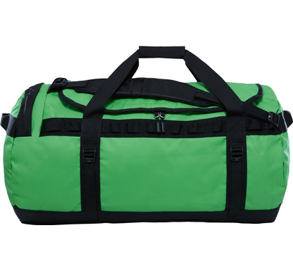 The North Face Base Camp Duffel L Classic Green/TNF Black