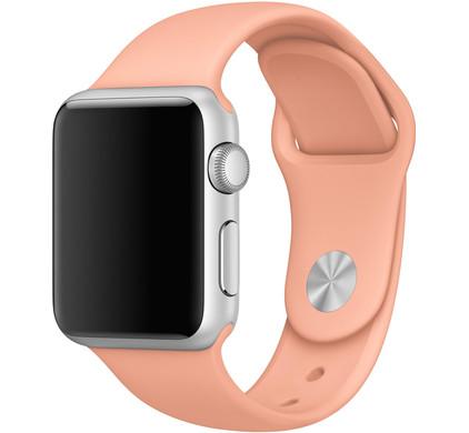 Apple Watch 42mm Siliconen Horlogeband Sport Flamingo