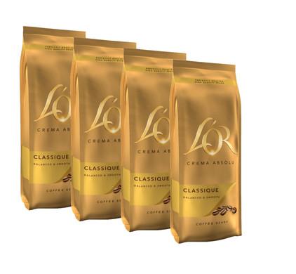 L'OR Crema Absolu grains de café 2 kg