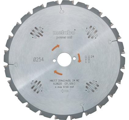 Metabo Zaagblad voor Hout 190x30x2,2mm 14T