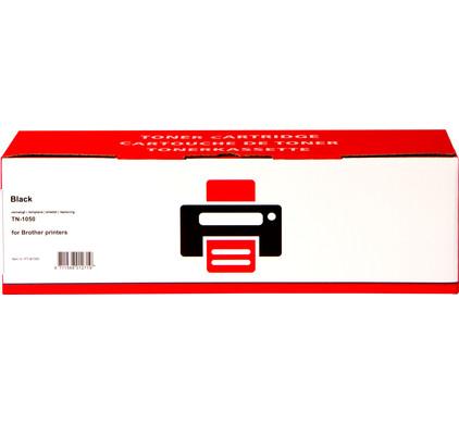 Huismerk TN-1050 Zwart voor Brother Printers (TN-1050)
