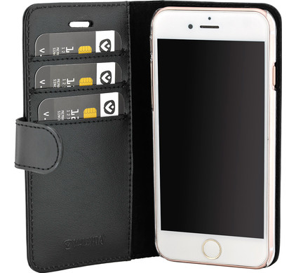 Valenta Booklet Classic Luxe Apple iPhone 7 Plus/8 Plus Zwart