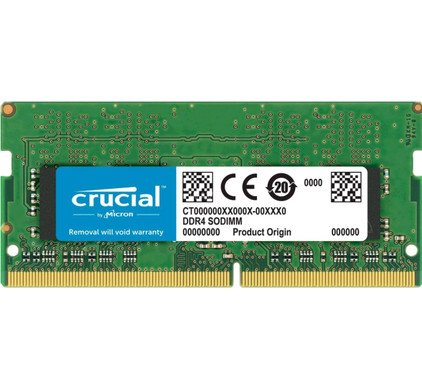 Crucial Apple 8GB DDR4 SODIMM 2400 MHz (1x8GB)