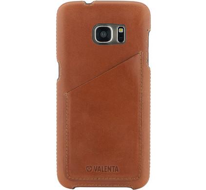 Valenta Backcover Classic Luxe Samsung Galaxy S7 Edge Bruin