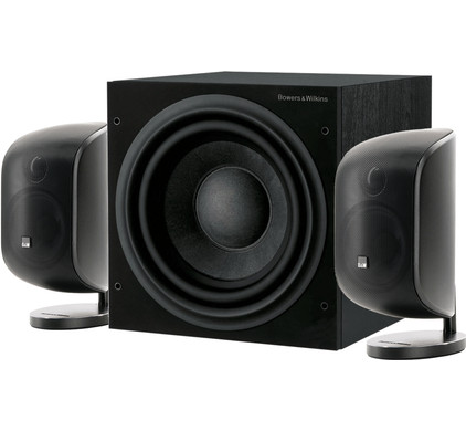 Bowers & Wilkins MT-50 2.1 Speakerset Zwart