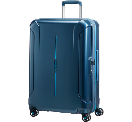 American Tourister Technum Expandable Spinner 68cm Metallic Blue