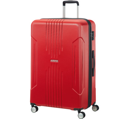 American Tourister Tracklite Expandable Spinner 78cm Flame Red