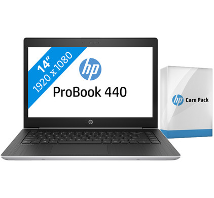 HP ProBook 440 G5 i5-8gb-256ssd + Care Pack
