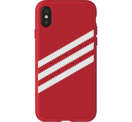 f044b1f85515d9 Adidas Originals Molded Suede iPhone X Back Cover Red - Coolblue - Before  23 59