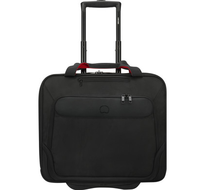 "Delsey Parvis Plus Boardcase Trolley 17,3"" Zwart"