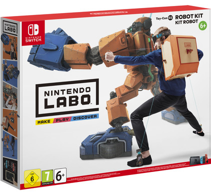 Nintendo Labo : Kit Robot