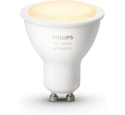 Philips Hue White Ambiance GU10 Single Pack