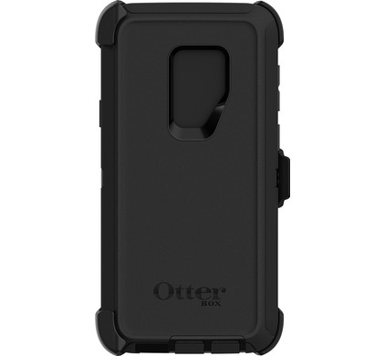 super popular dcdd5 61b7b Otterbox Defender Samsung Galaxy S9 Plus Back Cover Black