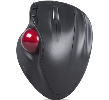 Speedlink Aptico Wireless Trackball Zwart