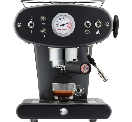 Illy X1 Ground Black - Before 23:59, delivered tomorrow