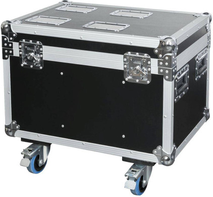 DAP D7049 Flightcase voor 4x Showtec Shark, Wash, Zoom of Combi