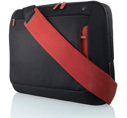 e8597a6e669 Belkin Laptoptas Messenger 17 inch Zwart - Coolblue - Voor 23.59u, morgen  in huis