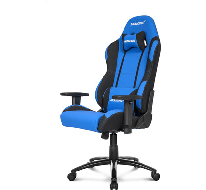 AK Racing Prime Gaming Chair Zwart/Blauw