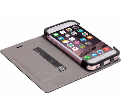 Krusell Malmo Book Case Apple iPhone 7/8 Zwart