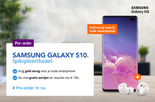 Pre-order Samsung S10 BE V2