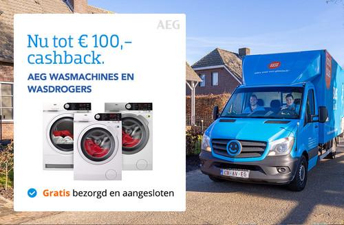 AEG Wasmachines cashback